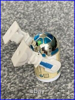 Vintage Star Wars Figure R2-D2 Pop-up Sabre Last 17 Original EPM Sabre