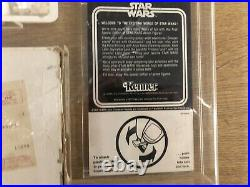 Vintage Star Wars Figures Early Bird Set Mailer In Case