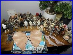 Vintage Star Wars Figures x69 Collection Lot AFA UKG Ewok Combat Glider Boxed