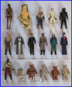 Vintage Star Wars Incomplete Last 17 POTF Action Figures Choose Your Own