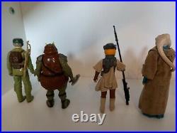Vintage Star Wars Job Lot of 22 figures including 11 complete & original weapons