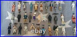 Vintage Star Wars Kenner Figures 96 Full Set Empire Jedi Last 17 bundle job lot