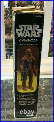 Vintage Star Wars Kenner Large Size Action Figure 1977 Chewbacca 15 Mib