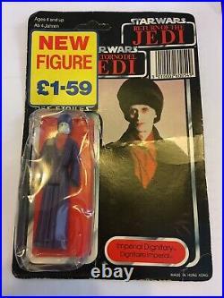 Vintage Star Wars Kenner Original 1984 Last 17 Imperial Dignitary action figure