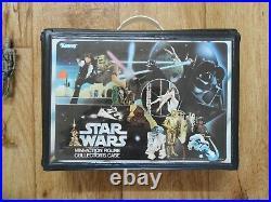 Vintage Star Wars Lot Kenner Figures + Collector Case 1977-1983