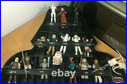 Vintage Star Wars Lot of 31 FIGURES Original Weapons 1977-85 NM