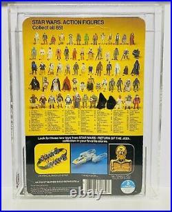 Vintage Star Wars Luke Skywalker Jedi Knight Blue Lightsaber Figure MOC UKG70