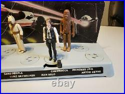 Vintage Star Wars Mail Away Figure Display Stand 1977 Kenner General Mills