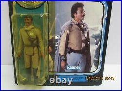 Vintage Star Wars Potf Lando Calrissian General Pilot Moc Action Figure Last 17
