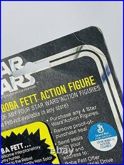 Vintage Star Wars Princess Leia Organa Boba Fett Offer Carded Action Figure MOC