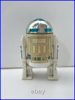 Vintage Star Wars R2-D2 Pop-up Lightsaber Original Last 17 figure, Tri-logo card