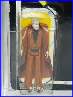 Vintage Star Wars ROTJ Ben Obi-Wan Kenobi Carded Figure MOC AFA75 UKG Palitoy