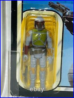 Vintage Star Wars ROTJ Boba Fett Graded Action Figure MOC UKG75 AFA