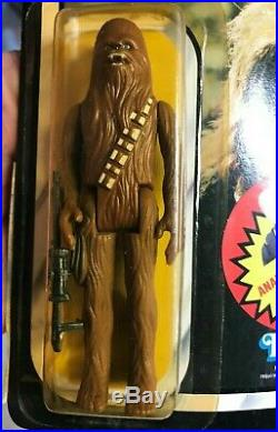 Vintage Star Wars Return Of The Jedi CHEWBACCA FIGURE 79 BACK MOC RARE VARIANT