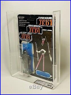 Vintage Star Wars Tri Logo Tie Fighter Pilot Carded Action Figure MOC UKG70 AFA