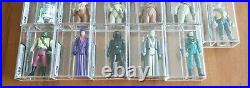Vintage Star Wars UKG Last 17 Bundle/Job Lot UKG85 Not AFA Job Lot 16 Figures