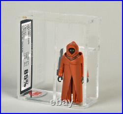 Vintage Star Wars VINYL CAPE JAWA loose UKG 85% mega rare figure graded