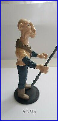 Vintage Star Wars Yak Face (Last 17) figures with original staff. No2
