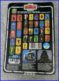 Vintage Star Wars Yoda Carded Figure Un-Punched Factory Sealed Rare MOC
