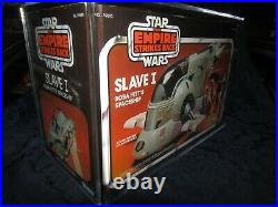 Vintage kenner star wars slave 1 boba fett figure moc/mib'factory seal'Acrylic