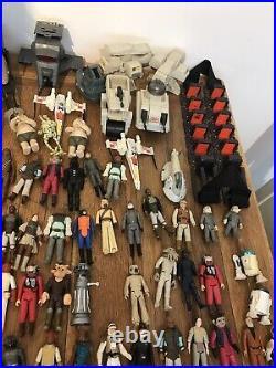 Vintage star wars figures job lot kenner
