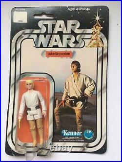 Vtg 1977 Kenner Star Wars Luke Skywalker Action figure Unopened 12 Back 38180