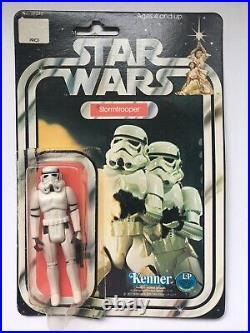 Vtg 1977 Star Wars Storm Trooper action figure Kenner 38240 12 Back